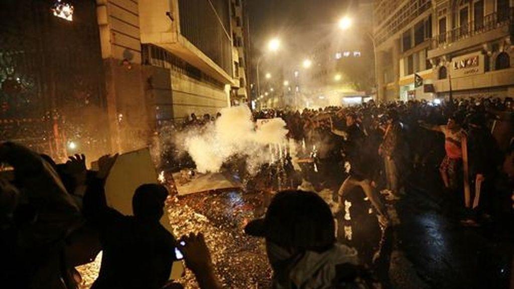 78 detenidos en las protestas en Sao Paulo por el transporte público