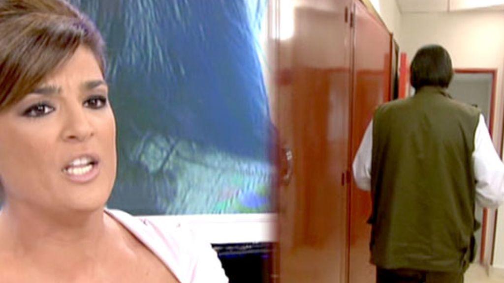 En el WC con Julián Muñoz