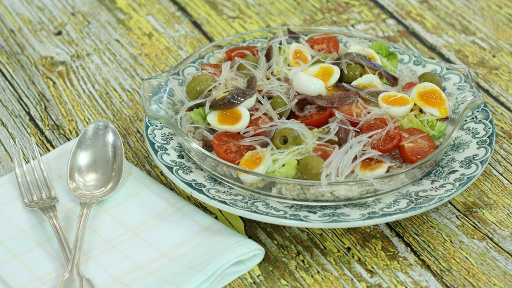 Arroz integral con quinoa y bonito de 'Robin Food'