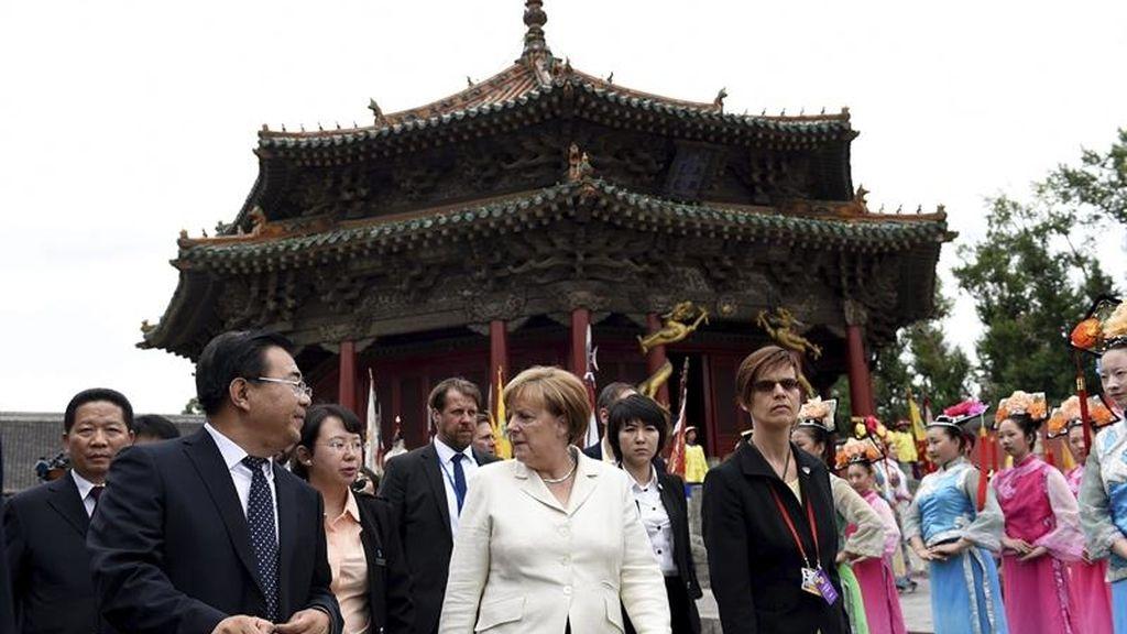Visita de Angela Merkel a China