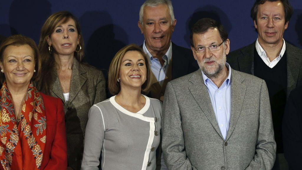 Mariano Rajoy y M. Dolores de Cospedal