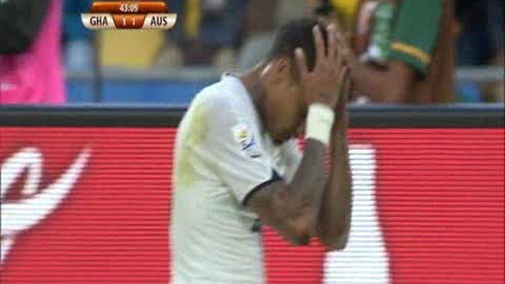 Grupo D: Ghana 1 - 1 Australia