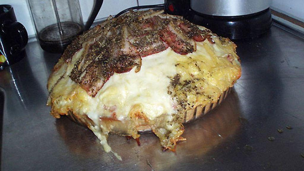 La pizza de 8.789 calorías