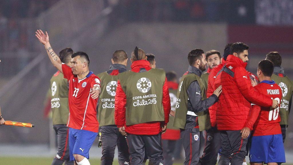 Chile golea a Bolivia y ambas se clasifican para cuartos