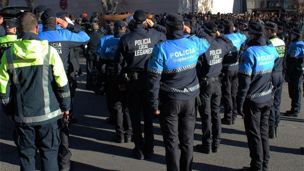 despedida policía