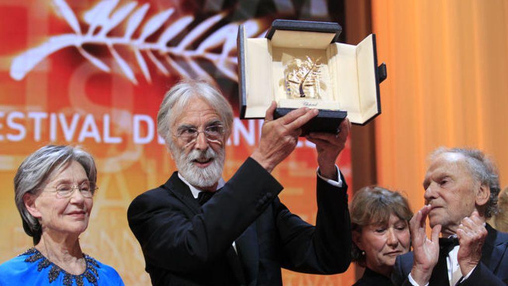 La película 'Amour' ('Amor') del polémico director austriaco Michael Haneke se ha hecho con la Palma de Oro. Foto: REUTERS