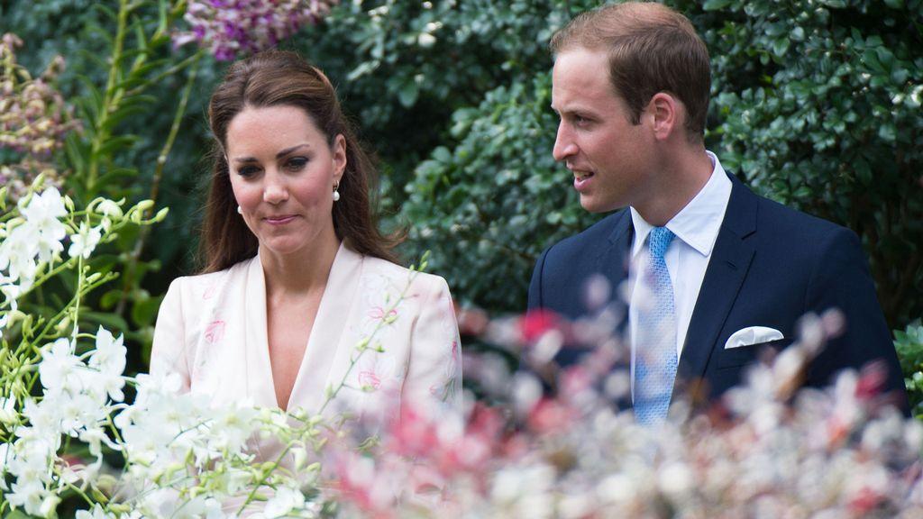 Príncipes de Inglaterra: Guillermo de Inglaterra y Kate Middleton