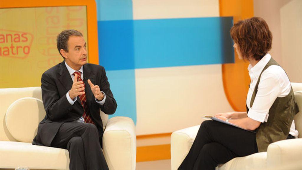"""Zapatero en las """"Las mañanas de Cuatro"""""""