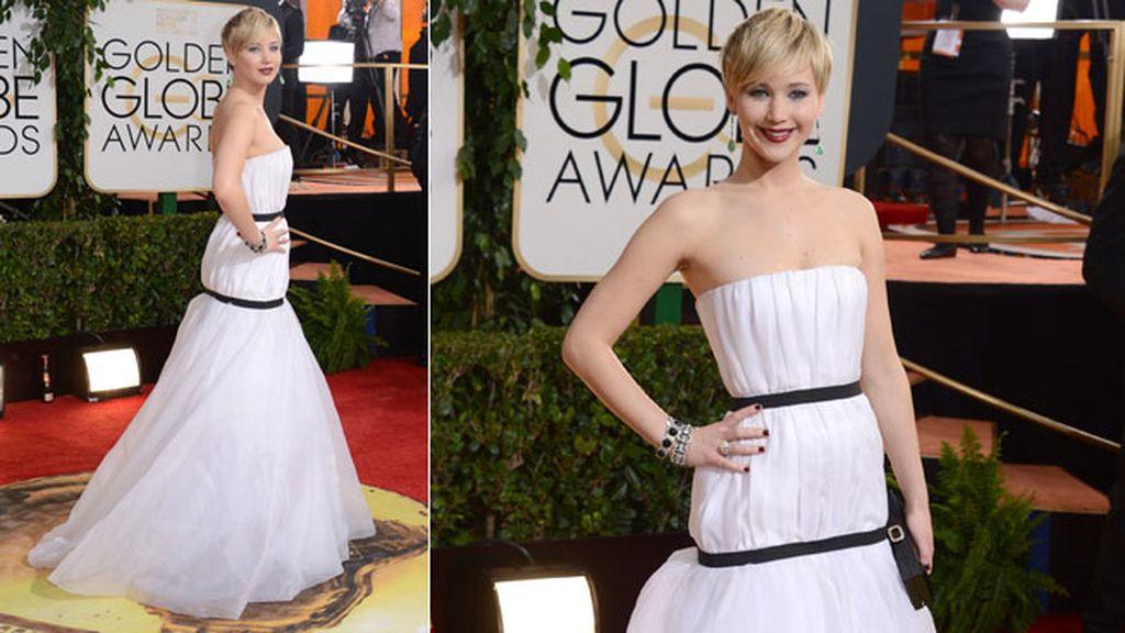 Jennifer Lawrence de Dior Haute Couture