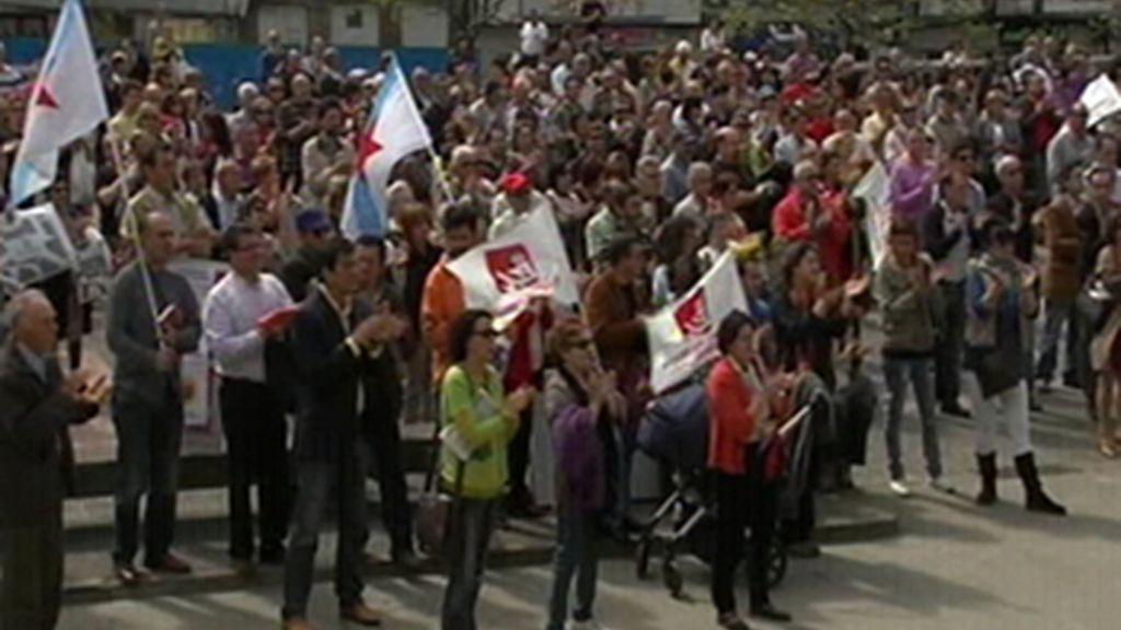 Comienzan las movilizaciones de asociaciones de memoria histórica en apoyo a Garzón