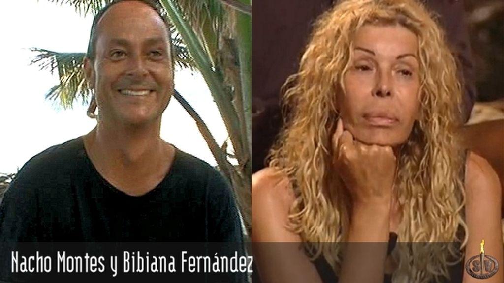 Nacho Montes y Bibiana Fernández
