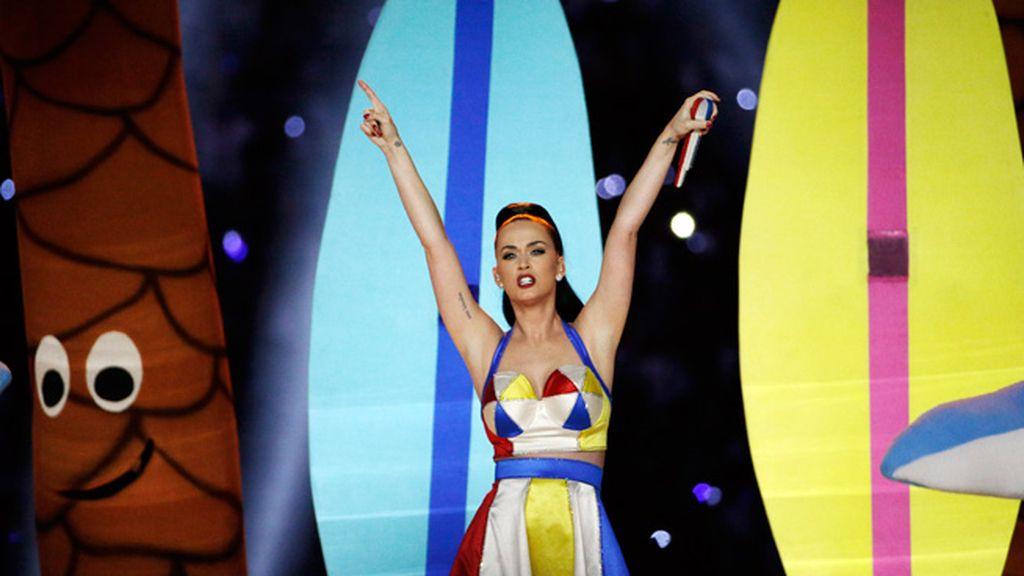 Katy Perry, protagonista en el escenario