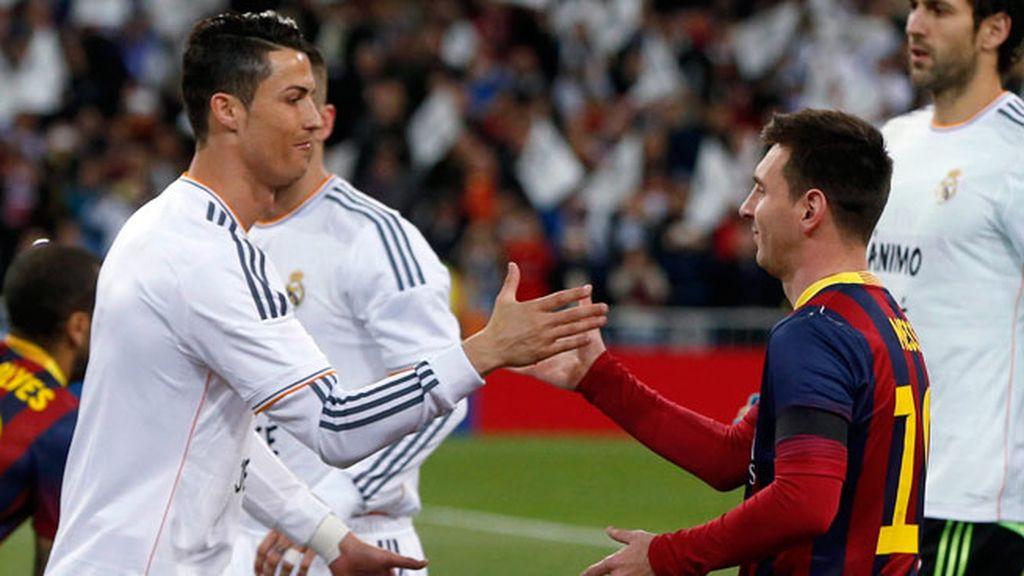 Triunfante en su particular batalla con Messi