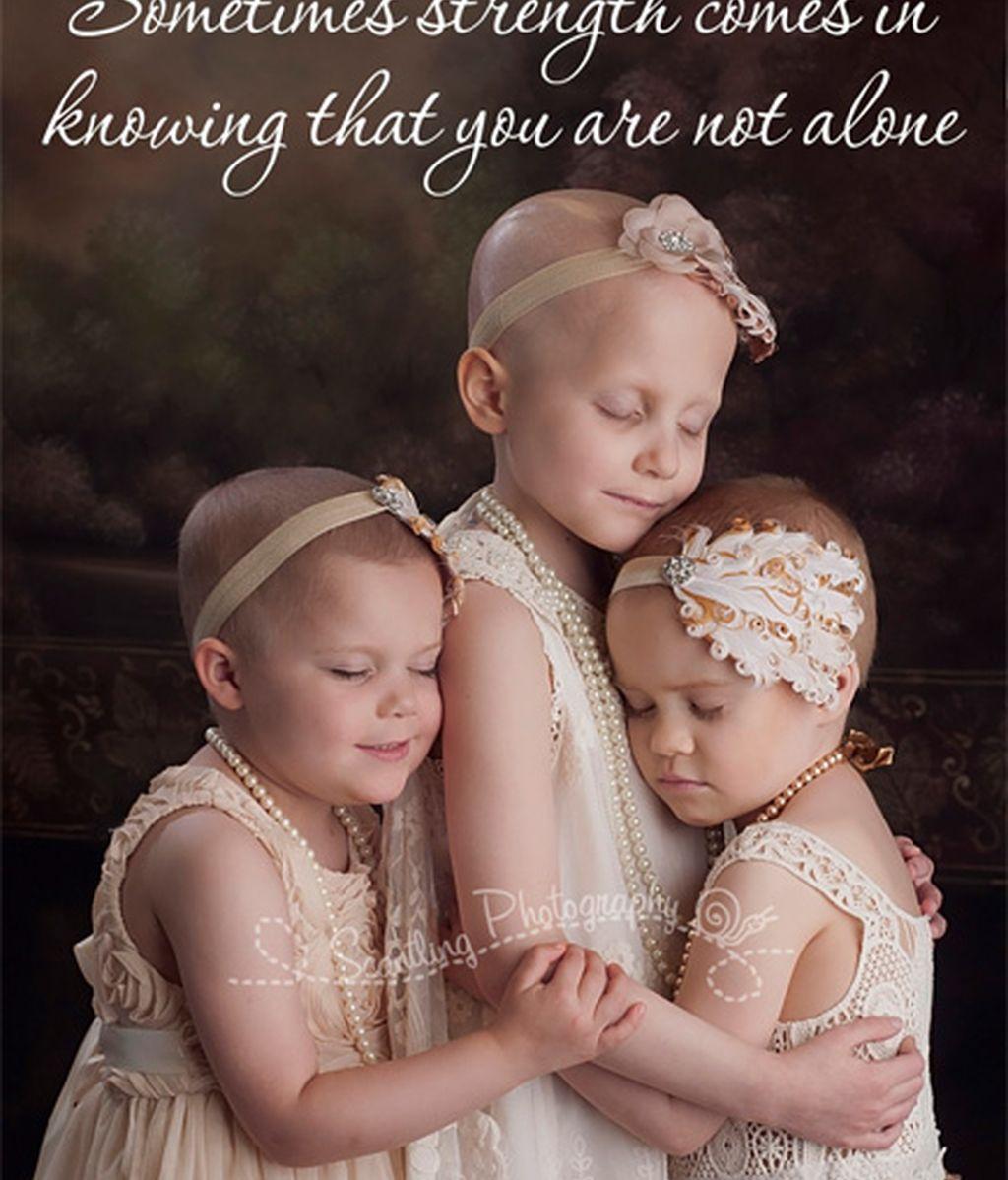 Imagen viral contra el cáncer infantil