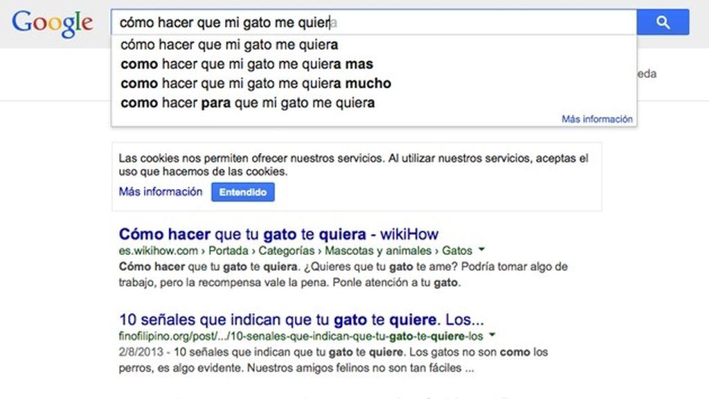 Las búsquedas más absurdas en Google