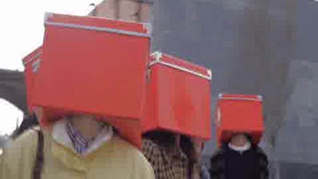 Promo Allá tú: Para todos aquellos que no han popido quitarse las cajas de cabeza, ha llegado el día