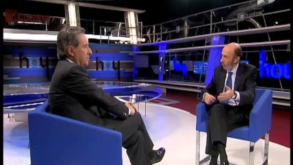 Rubalcaba dice que no quiere ser presidente