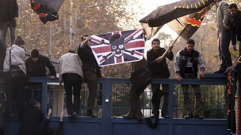 Asalto la Embajada británcia en Irán