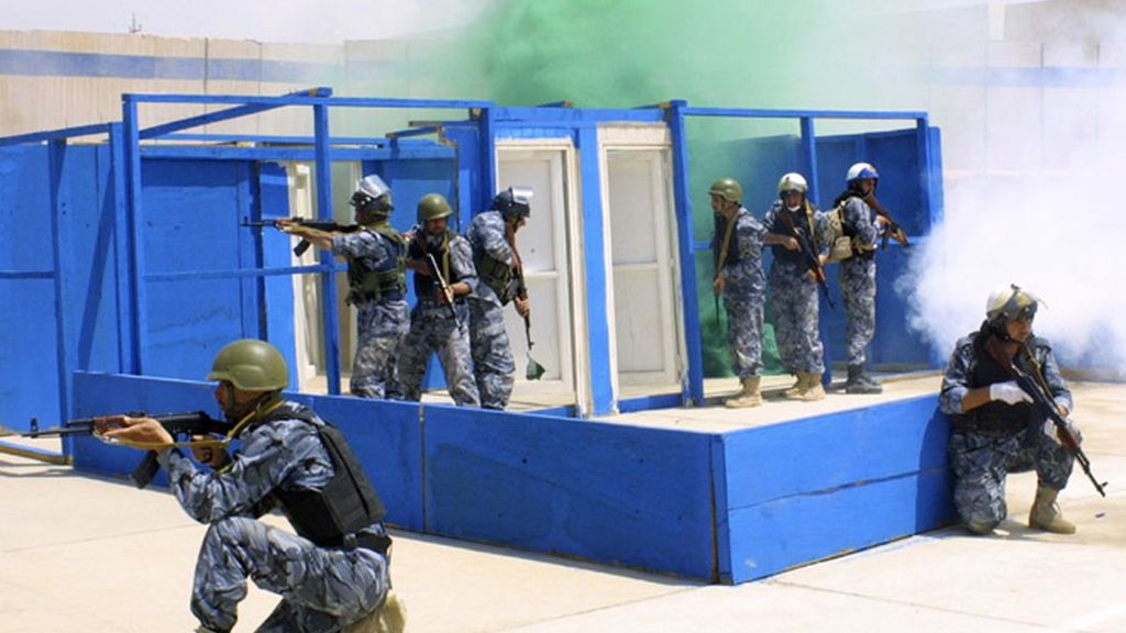 Base militar en Irak