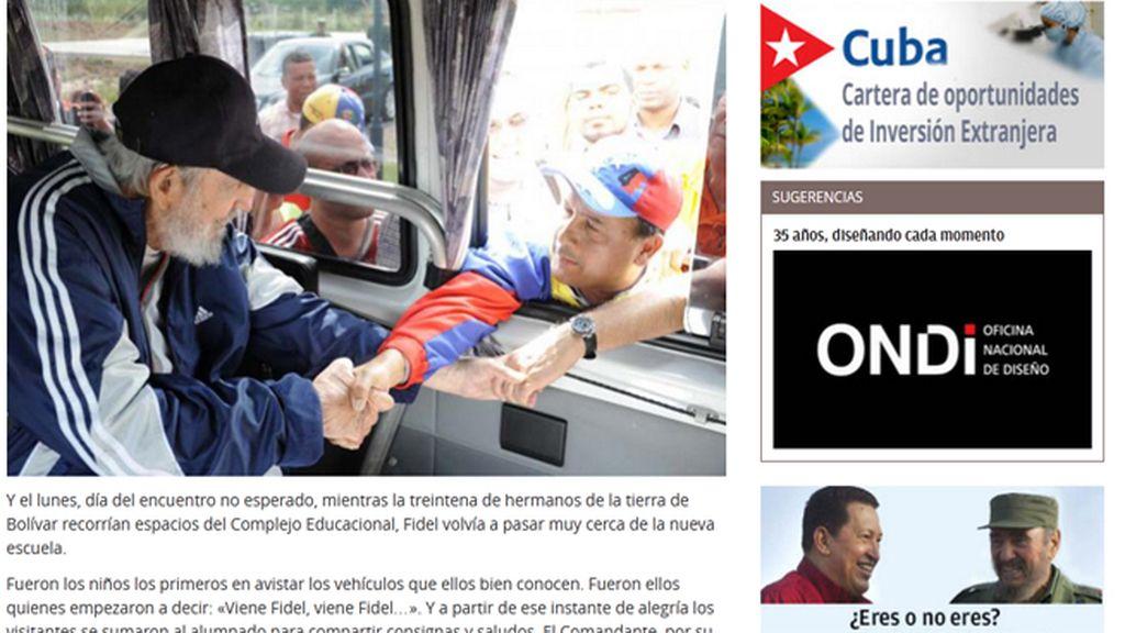 Fidel Castro vuelve a realizar una aparición pública en Cuba