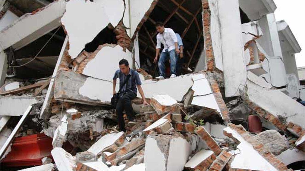Sumatra, devastada por el terremoto