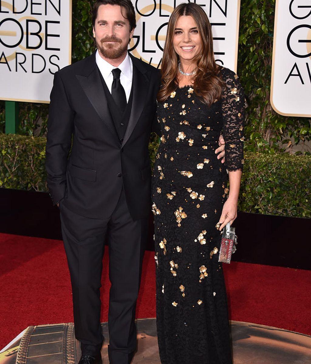 Christian Bale y su esposa Sibi Blazic