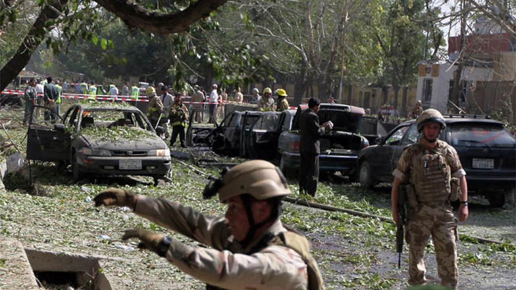 Ataque al cuartel de la OTAN en Kabul