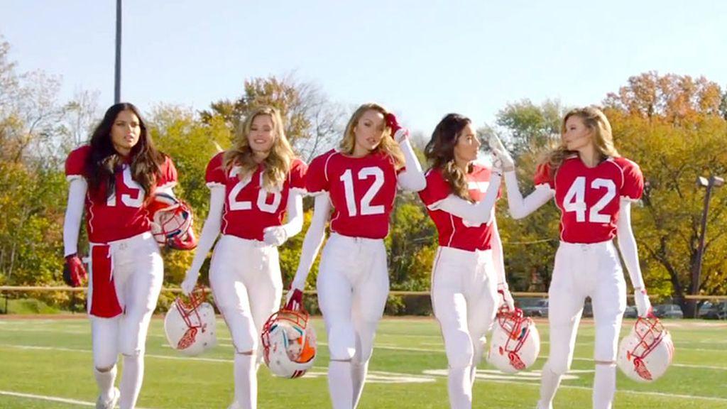 Los Ángeles de Victoria's Secret en la Super Bowl
