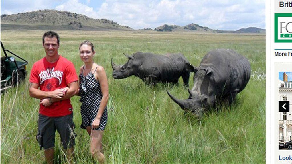 A los rinocerontes no les gustan las fotos