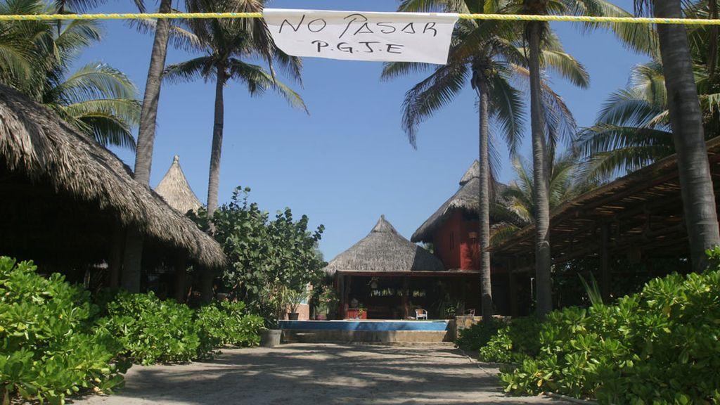 El bungalow donde fueron violadas las seis españolas en Acapulco
