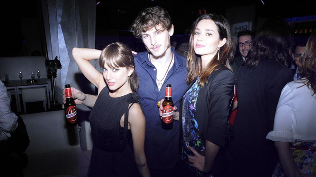 Silvia Alonso, Nicolás Coronado y Dafne Fernández