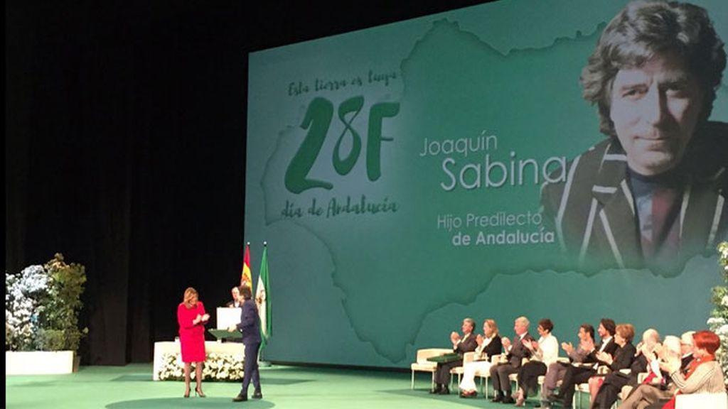 Joaquín Sabina, Hijo Predilecto de Andalucía