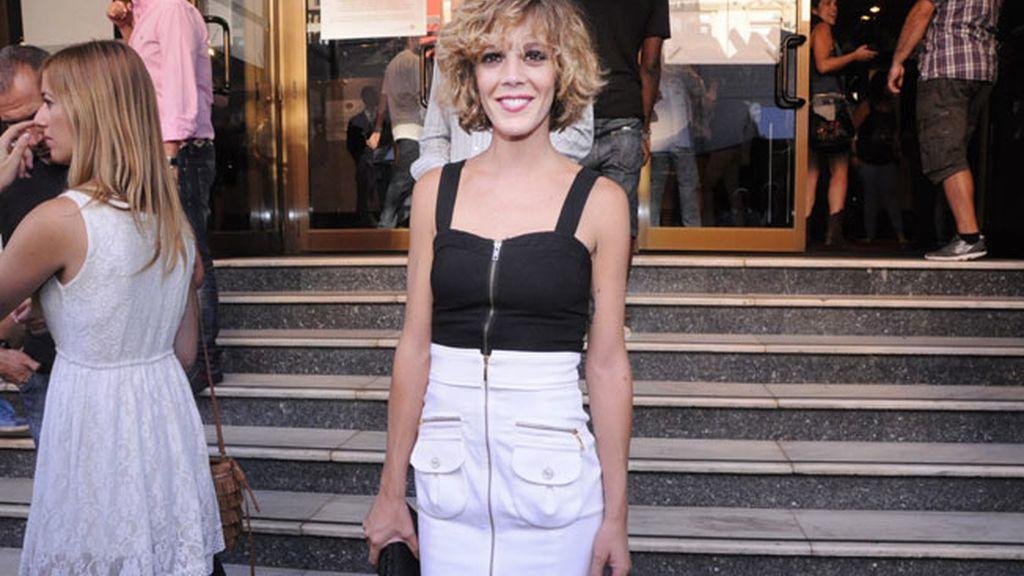 La actriz Bárbara Muñoz se declaró fan de la saga Batman