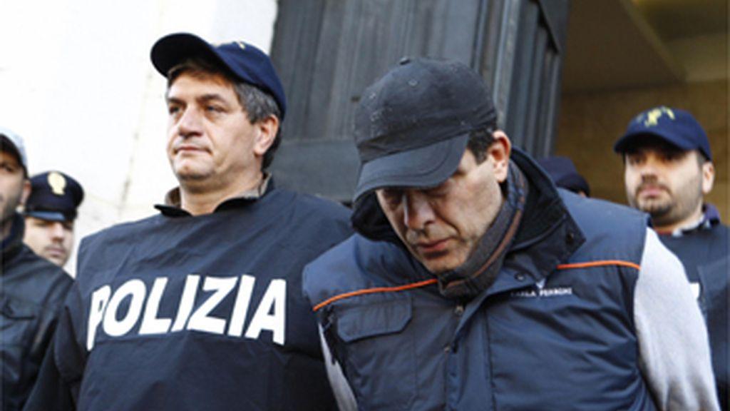 Salvatore Russo, detenido por la Policía italiana