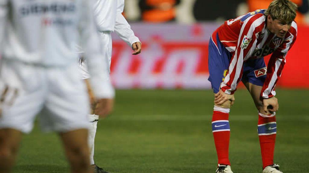 Torres no podrá defender el escudo del Atleti en esta ocasión