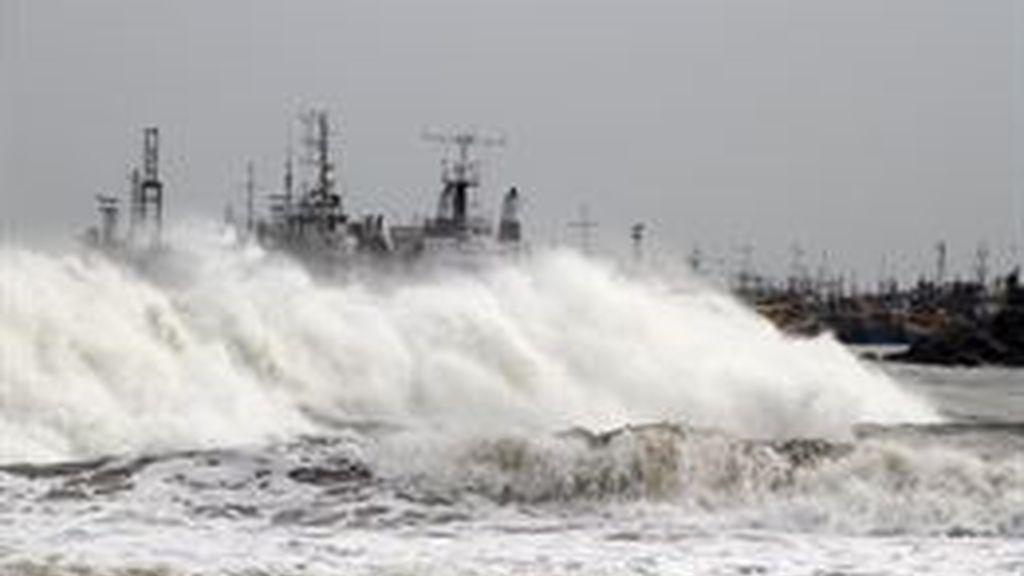 India, en alerta máxima ante la llegada del ciclón 'Phailin', el de mayor intensidad desde 1999