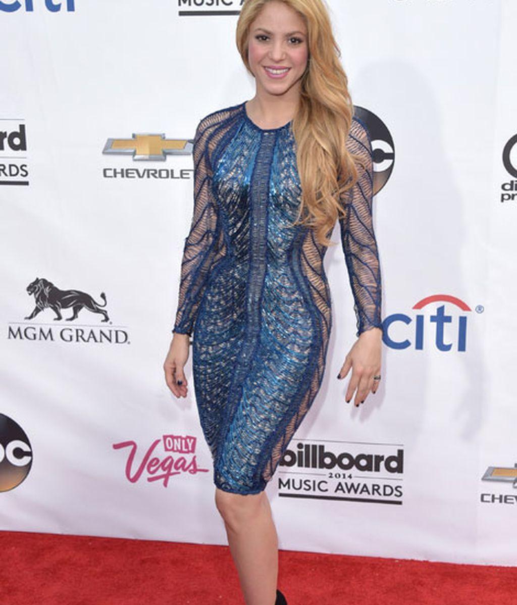 Shakira vestida de Julien McDonald