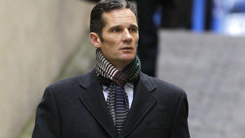 Iñaki Urdangarin a su llegado a los juzgados de Palma para declarar por segunda vez. Foto:EFE