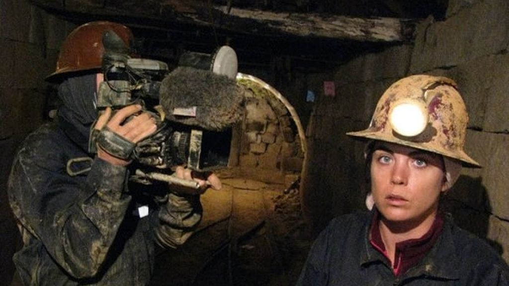 Samanta en la mina