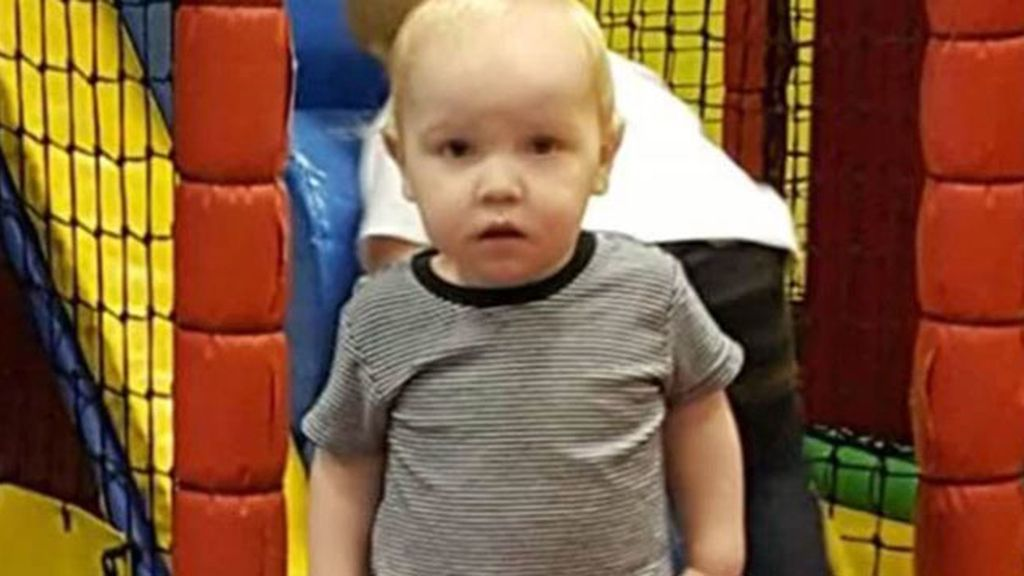 Harry Studley niño de un año