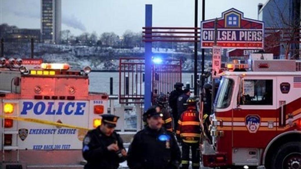 Amerizaje de emergencia en Nueva York