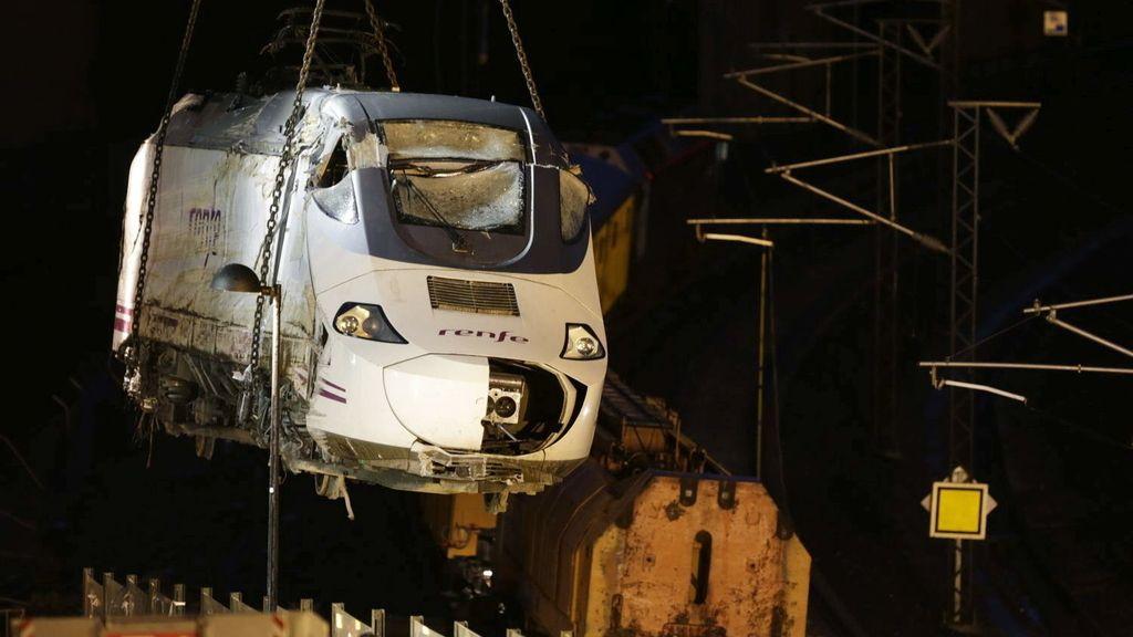 Tragedia tren. Foto: EFE