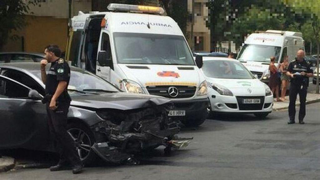 Investigan un accidente de tráfico supuestamente provocado por un menor