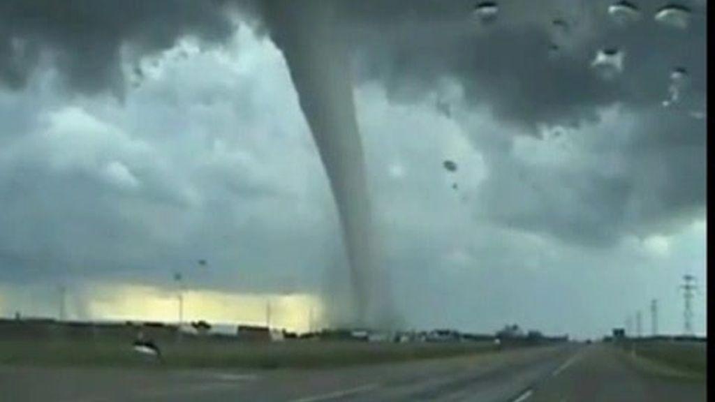 Vientos convertidos en tornados
