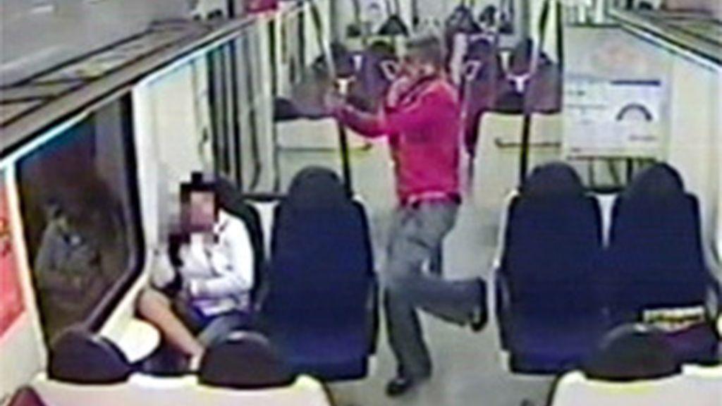 Agresión racista en el tren de Barcelona