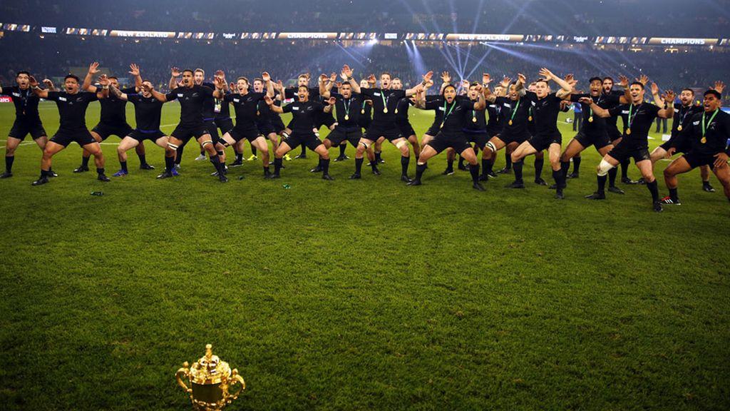 'La haka' memorable de los All Blacks a su tercera Copa del Mundo (01/11/2015)