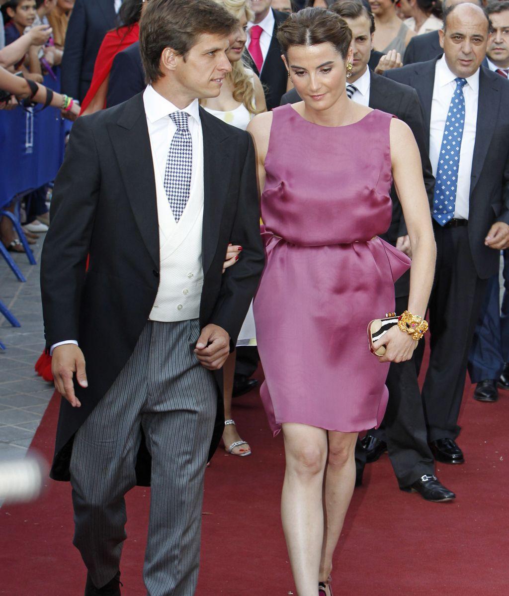 El Juli y Rosario Domecq
