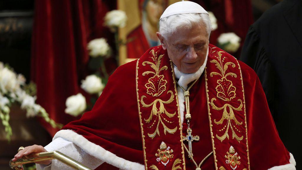 El papa Benedicto XVI el día de su renuncia