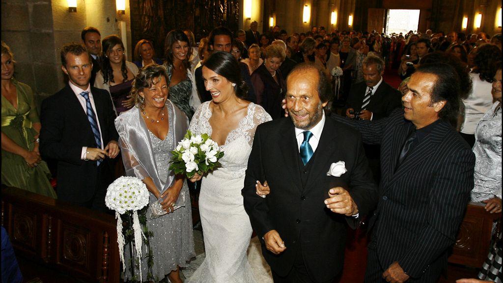 Llevando al altar a su hija Casilda