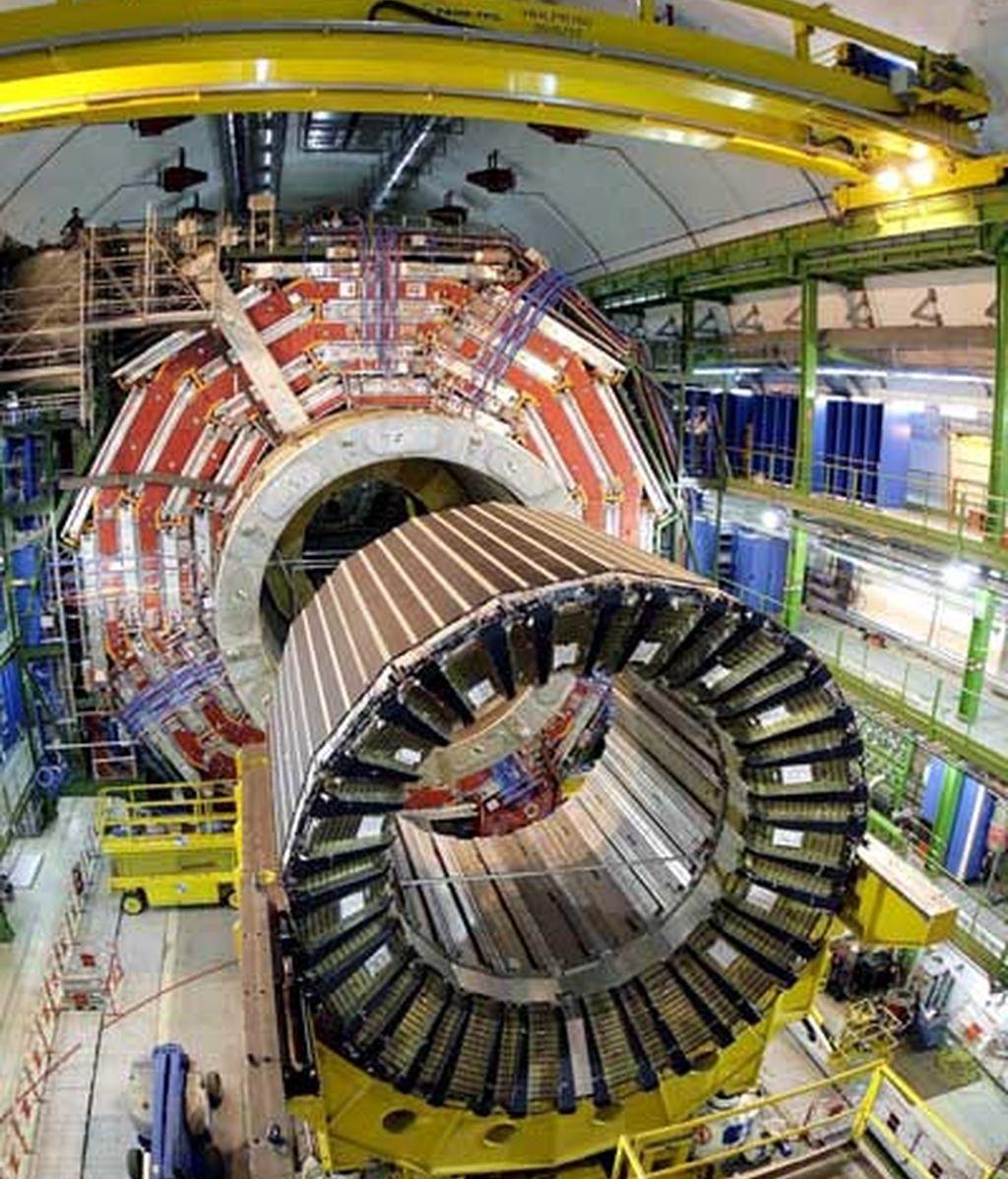 El acelerador de partículas se pone en marcha